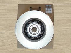 Brake disc rear for Renault Trafic / Opel Vivaro