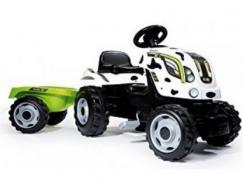 Детский педальный трактор c прицепом Smoby Farmer XL 710111