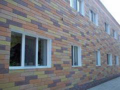 Фасад вентильований Донрок - Сканрок, Марморок
