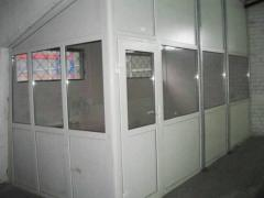 Rent of a heated warehouse 872 sq.m. and office space in Kiev