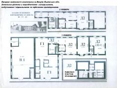 Sell land plot with an industrial building, in the city of Yavoriv