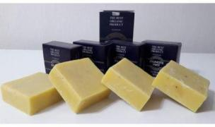 """Soap shungit """"shungite is available Way"""" with an extract of 25 Altai herbs"""