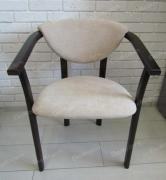The Alexis chair with armrests soft
