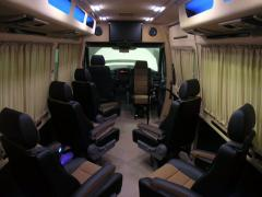 Tuning Internal Refitting of the Volkswagen Crafter LT paneling Volkswagen Crate