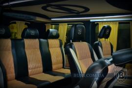 Тюнінг Внутрішній Переобладнання переробка салону в мікроавтобус перетяжка