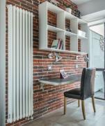 Vertical tubular radiators, available in